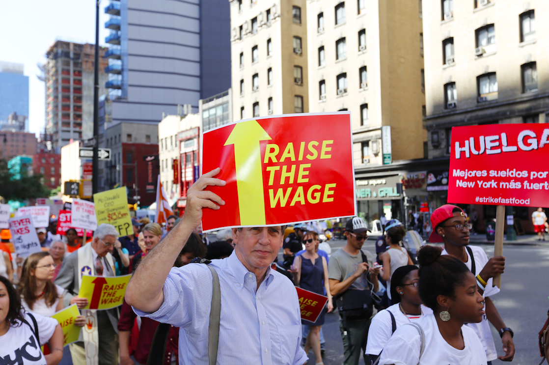 Wage hike for fast food industry